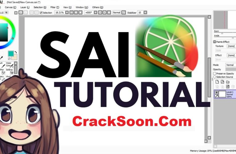 Paint Tool Sai 2 Crack + Serial Keygen Free Latest Version