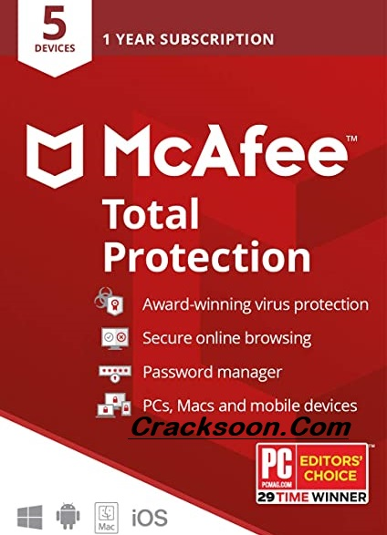 McAfee Antivirus 2021 Crack Full Activation Code Lifetime Download