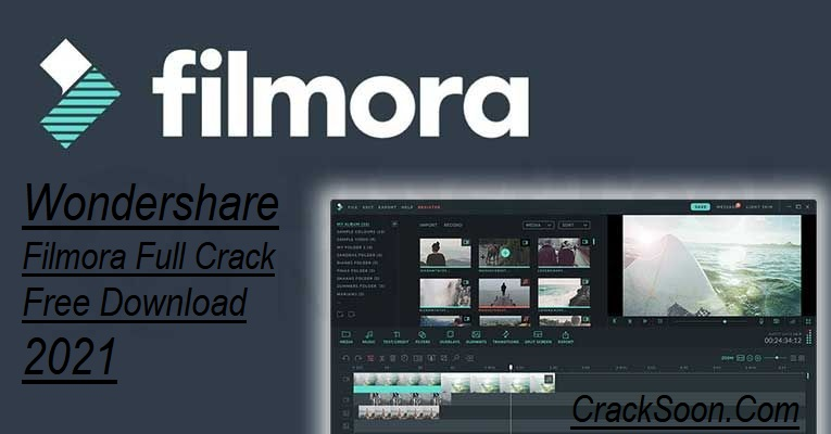 Wondershare Filmora 10.1.21.0 Crack Latest 2021 Keys Free Download
